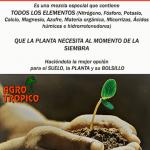 Tropisiembra de plantas
