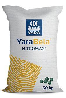 Abonos y fertilizantes Nitromag YaraBela, fertilizante especialmente diseñado para el aporte eficiente de N y Mg