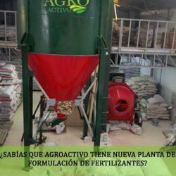 Planta de Producción AGROACTIVO