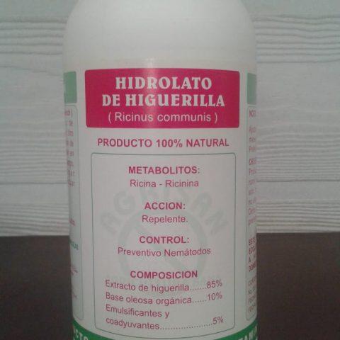 NEMATICIDA BOTÁNICO HIDROLATO DE HIGUERILLA