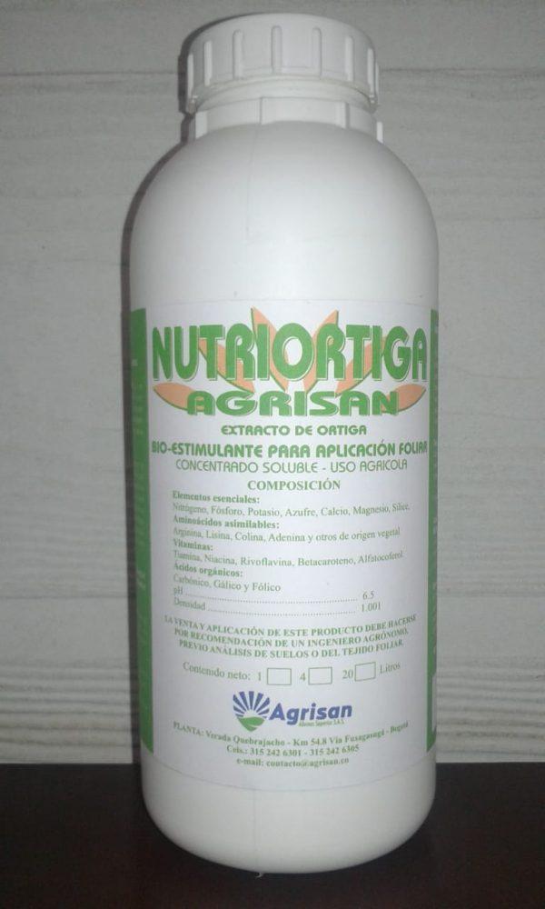 BIOESTIMULANTE FOLIAR NUTRIORTIGA