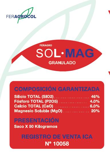 Silicio y Magnesio SOL MAG
