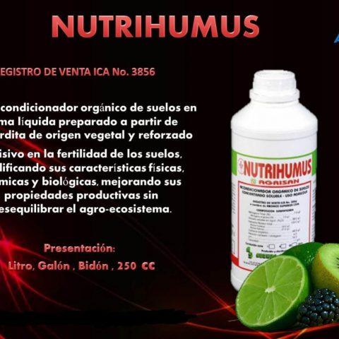 acondicionador orgánico nutrihumus agrisan