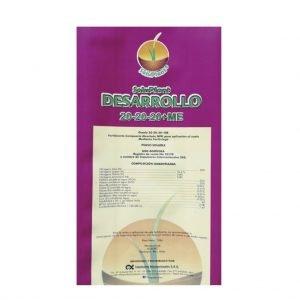 FERTILIZANTE SOLUPLANT DESARROLLO 20-20-20 + MENORES