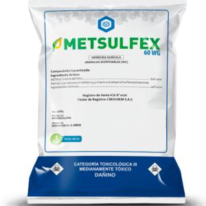 HERBICIDA METSULFURON METIL METSULFEX
