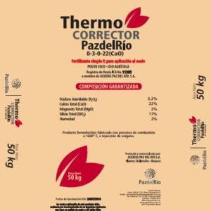 Fertilizante thermo corrector