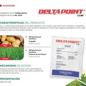 DELTAMETRINA INSECTICIDA DELTA POINT 2.5 WP
