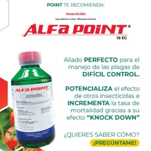 ALFACIPERMETRINA INSECTICIDA ALFA POINT 10 EC