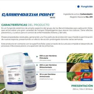 FUNGICIDA CARBENDAZIM POINT 500 SC