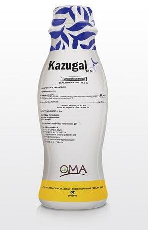 BACTERICIDA FUNGICIDA KASUGAMICINA KAZUGAL 20 SL